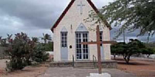 Capela no centro de Glória-BA-Foto:Riquinho27