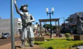 Corbélia - Praça dos Pioneiros, Por Zenilda