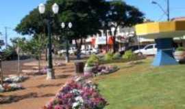 Corbélia - Praças floridas, Por Zenilda