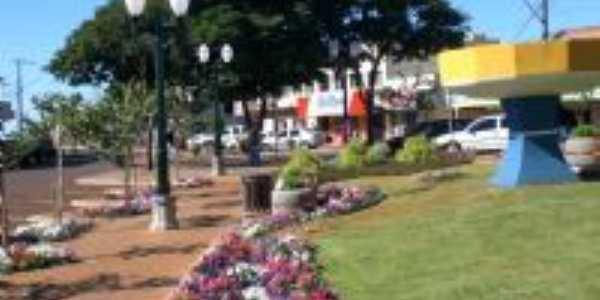 Praças floridas, Por Zenilda