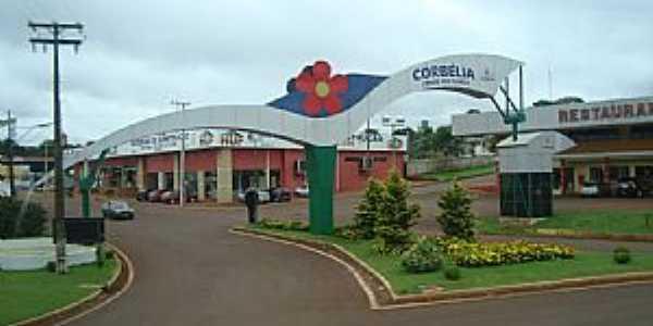 Corbélia-PR-Entrada da cidade-Foto:Elberth Santos