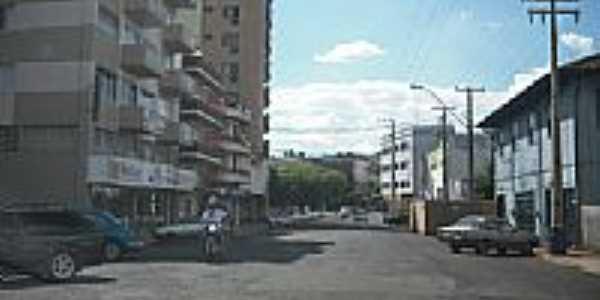 Rua Dr.Francisco Beltrão-Foto:Wagner Munaretto