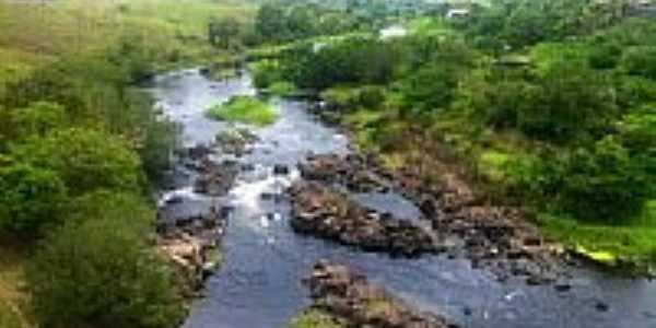 Rio Gongogi e vista da região de Gongogi-BA-Foto:Marcelo S F