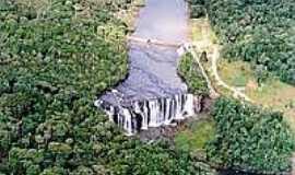 Cruz Machado - Cachoeira em Cruz Machado-Foto:paranaturismo.