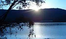 Cruz Machado - Entardecer no Lago Foz D´Areia-Foto:marcos muniz