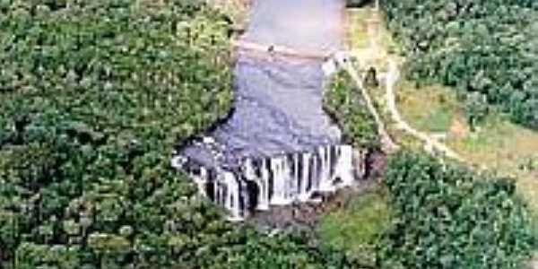 Cachoeira em Cruz Machado-Foto:paranaturismo.