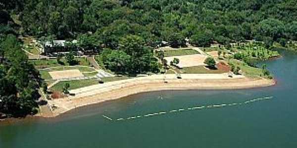 Cruzeiro do Iguaçu-PR-Vista aérea-Foto:Paraná Turismo