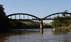 Curiúva - Ponte sobre o Rio Sapucaí por Nardinho