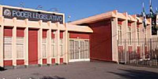 Câmara Municipal de Curiúva-Foto:Aparecido Ferraz