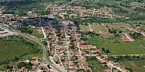 Vista aérea de Governador Mangabeira-BA-Foto:governadormangabeira.