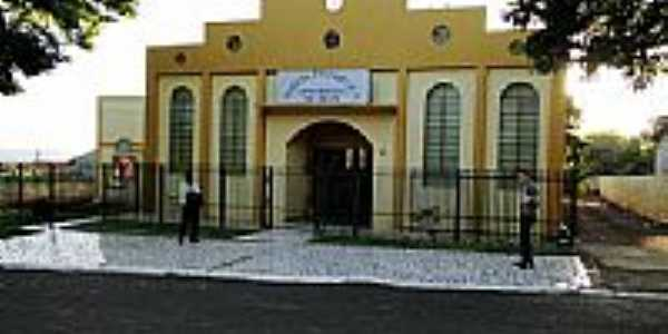 Templo da Assembléia de Deus em Diamante d´Oeste-Foto: Ricardo Mercadante