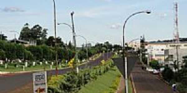 Entrada da cidade de Espigão Alto do Iguaçu-Foto:Ricardo Mercadante