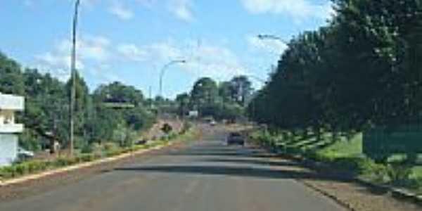 Estrada em Espigão Alto do Iguaçu-Foto:Emerson Novalski