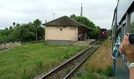 Estação General Lúcio - Estação General Lúcio-PR-Estação Ferroviária-Foto:Ralph M. Giesbrecht