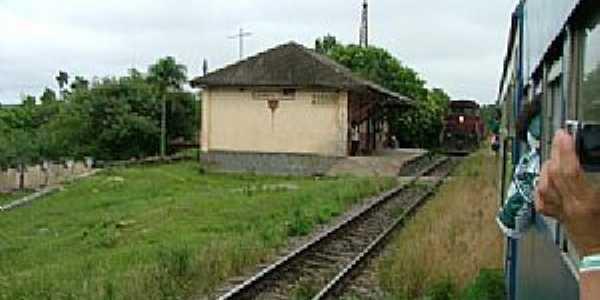 Estação General Lúcio-PR-Estação Ferroviária-Foto:Ralph M. Giesbrecht