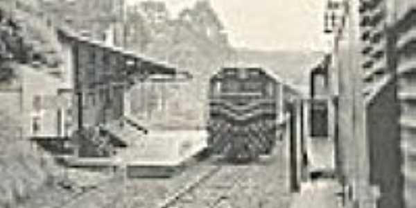 A estação em 1989-Foto:de revista da época