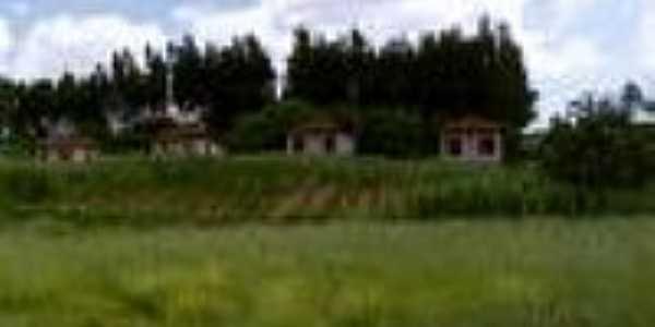 Casas da Vila ferroviária em 2002-Foto:Douglas Razaboni