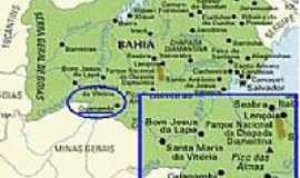 Guanambi - Mapa