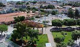 Guanambi - Vista da Pra�a central de Guanambi-Foto:Wilson Frota Junior
