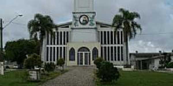 Igreja Católica de Fazenda Rio Grande-Foto:Koglin