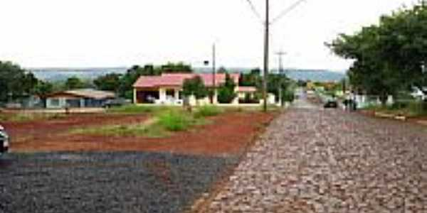 Vista da cidade de Foz do Jord�o-Foto:Moacir P Cruz de Gu�
