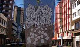 Francisco Beltrão - Francisco Beltrão-PR-Monumento à Revolta dos Posseiros-Foto:Renato Viana Albarra…