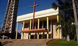 Francisco Beltr�o - Igreja de N.Sra.da Gl�ria em Francisco Beltr�o-PR-Foto:Ricardo Mercadante