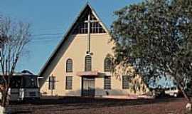 Francisco Beltr�o - Igreja de Rio Tuna em Francisco Beltr�o-PR-Foto:Ricardo Mercadante