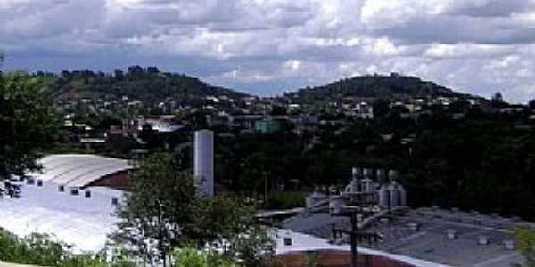 Francisco Beltrão-PR-Vista parcial da cidade-Foto:Artemio Clides Karpinski