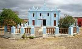 Canapi - Igreja de N.Sra.Divina Pastora, Povoado de Capiá da Igrejinha-Foto:Fernando Carvalho