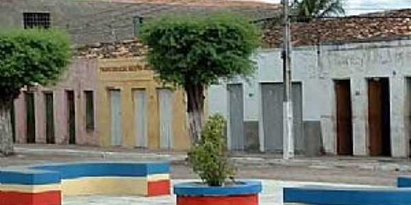 Canapi-AL-Praça na Rua Sonia Malta-Foto:meus pontos