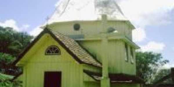 igreja divino espirito santo marco 5 construida em 1905, Por jorge newton nicolem
