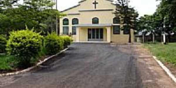 Igreja Matriz de Guaiporã-Foto:Ionildo Sanches