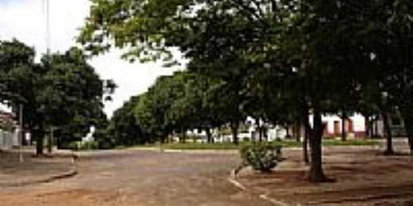 Praça de Guaiporã-Foto:Ionildo Sanches