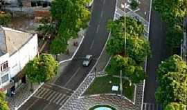 Gua�ra - Gua�ra-PR-Chafariz na Avenida central-Foto:GabiValenga