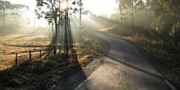 Estrada de Guaira�a-Foto:Moacir P Cruz de Gu�