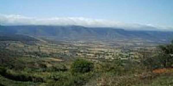 Vista da Serra do Salto-Foto:Thom� Lucas A. Oliveira