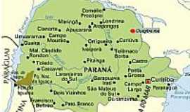 Guapirama - Mapa