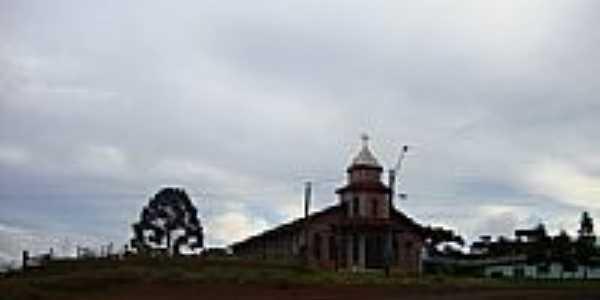Igreja no Distrito de Guará-Foto:Emerson Novalski
