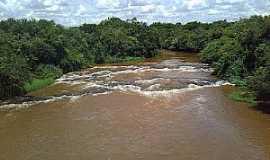 Guaraci - Guaraci-PR-Águas vermelhas do Rio Bandeirantes do Norte-Foto:SANTOS OLIVEIRA