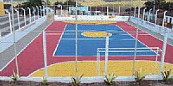 Quadra de esportes em Gurupá Mirim-Foto:potidal