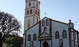 Guarapuava - Catedral de N.Sra.de Belém em Guarapuava-PR-Foto:Paulo Yuji Takarada