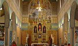 Guarapuava - Interior da Catedral de N.Sra.de Bel�m em Guarapuava-PR-Foto:Loivinho A.M.Fran�a