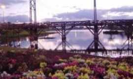 Guarapuava - ponte sobre o lago, Por daniel santos
