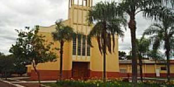 Igreja em Guaravera por bortolato