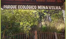 Ibaiti - Ibaiti-PR-Entrada do Parque Ecológico Mina Velha-Foto:blogdocesardemello.com.br