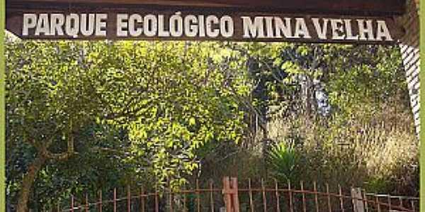Ibaiti-PR-Entrada do Parque Ecol�gico Mina Velha-Foto:blogdocesardemello.com.br