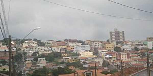 Ibaiti-PR-Vista do centro da cidade-Foto:Claudinei Lexers lexers
