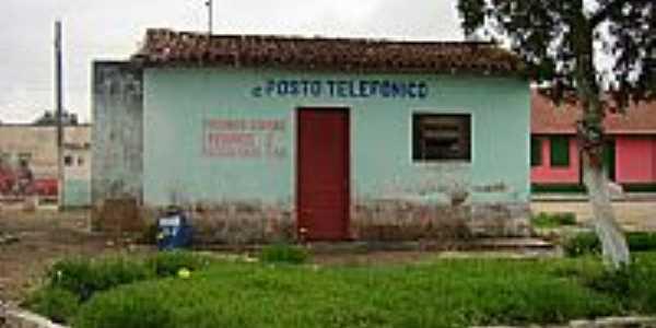 Antigo Posto Telefônico de Helvécia-BA-Foto:Ferdinando Prates