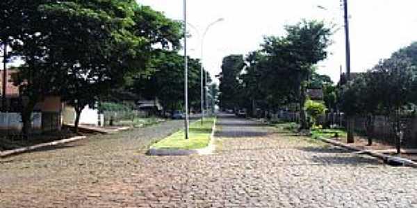 Içara-PR-Avenida da cidade-Foto:leandro renato ferreira